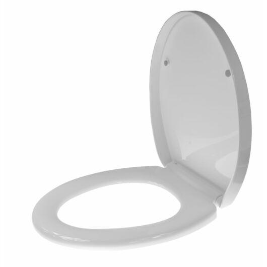 D3 lassú záródású lecsapódásgátló WC ülőke fehér