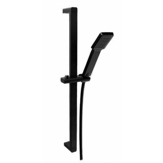 Zen3 fürdőszobai zuhanyszett szögletes fekete