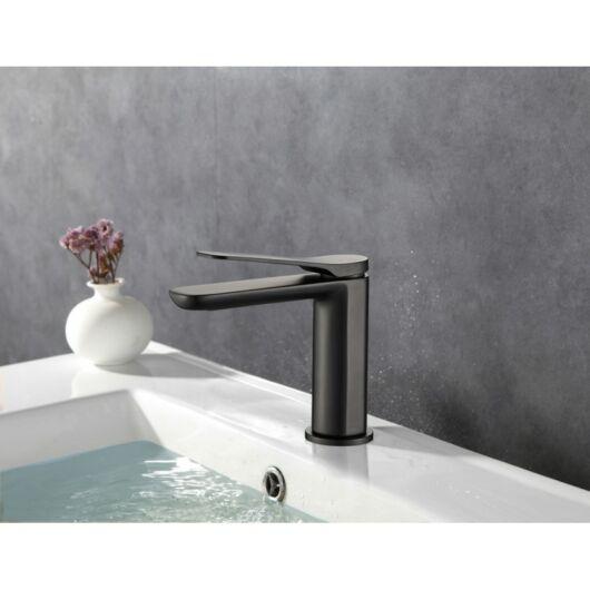 Largo fürdőszobai mosdó csaptelep fekete