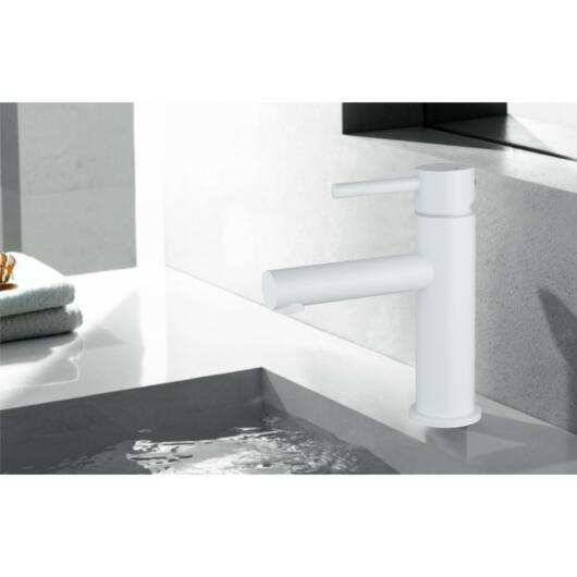 Elba fürdőszobai mosdó csaptelep fehér