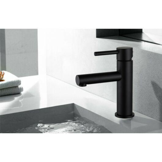 Elba fürdőszobai mosdó csaptelep fekete