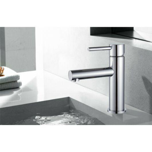 Elba fürdőszobai mosdó csaptelep króm