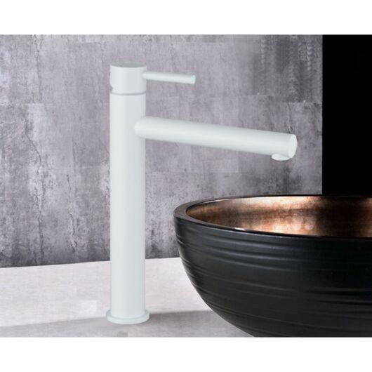 Elba magasított fürdőszobai mosdó csaptelep fehér
