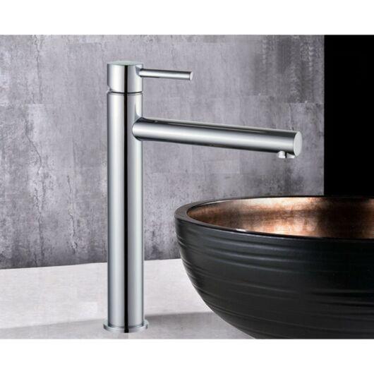 Elba magasított fürdőszobai mosdó csaptelep króm