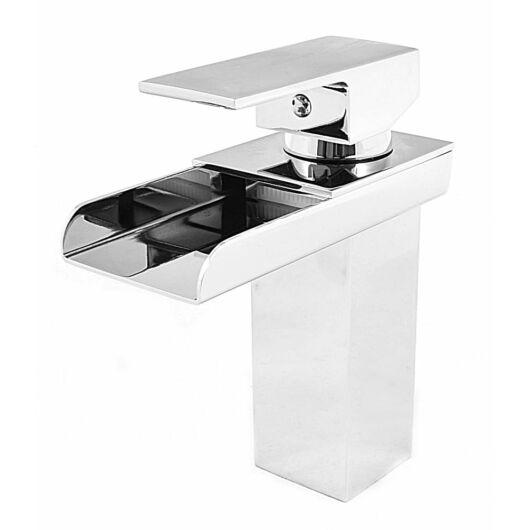 Dale fürdőszobai mosdó csaptelep csobogó alakú vízsugárral króm
