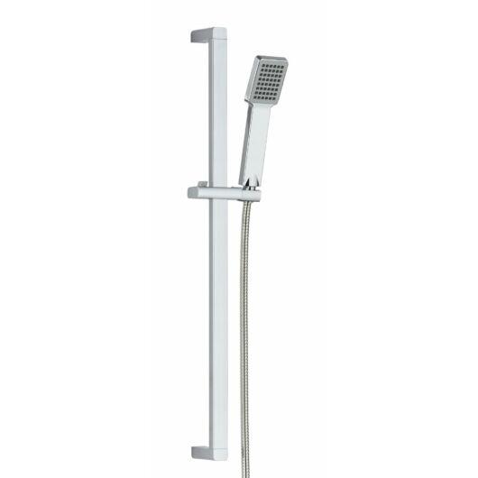 Zen3 fürdőszobai zuhanyszett szögletes króm