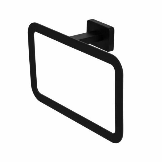 Caro square törölközőtartó fekete