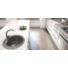 Kép 1/4 - Malibu 10 kerek gránit mosogató automata, fekete
