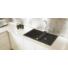 Kép 1/4 - SLIDE 40 egymedencés gránit mosogató csepptálcával, automata dugóemelő, szifonkészlet, fekete