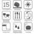 Kép 4/6 - Retto Med gránit mosogató automata dugóemelővel, szifonnal, fekete