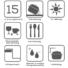 Kép 3/5 - Retto Start gránit mosogató automata dugóemelővel, szifonnal, fekete