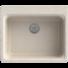 Kép 1/2 - Lille egymedencés gránit mosogató automata dugóemelő, szifonnal, bézs